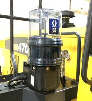 Graco Lubrication Systems Now Available On Komatsu Equipment