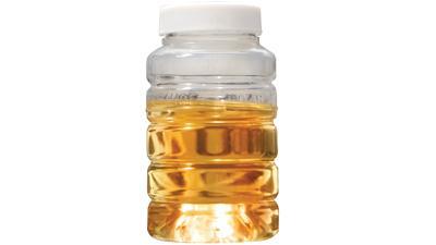 Oil analysis bottle