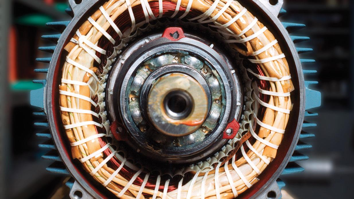 Possible causes of a noisy bearing for Electric motor bearing grease