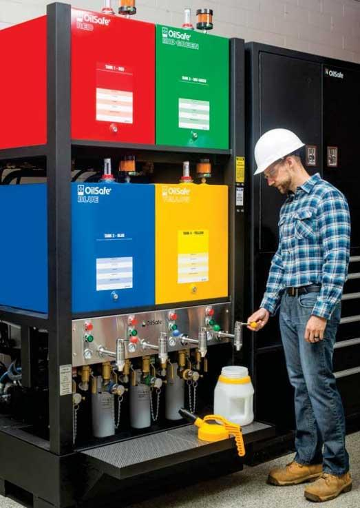 Bulk Oil Storage and Dispensing System