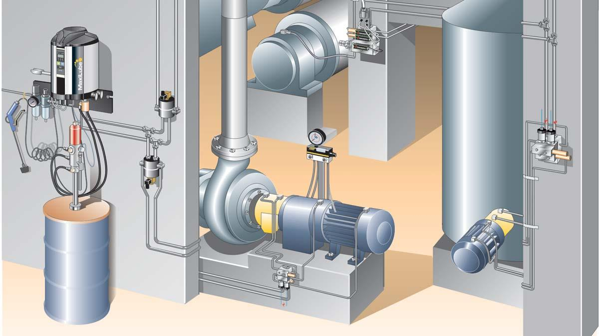 Preventive Maintenance Of Centralized Lubrication Systems