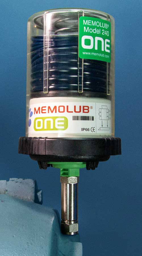 Electrochemical single-point lubricators