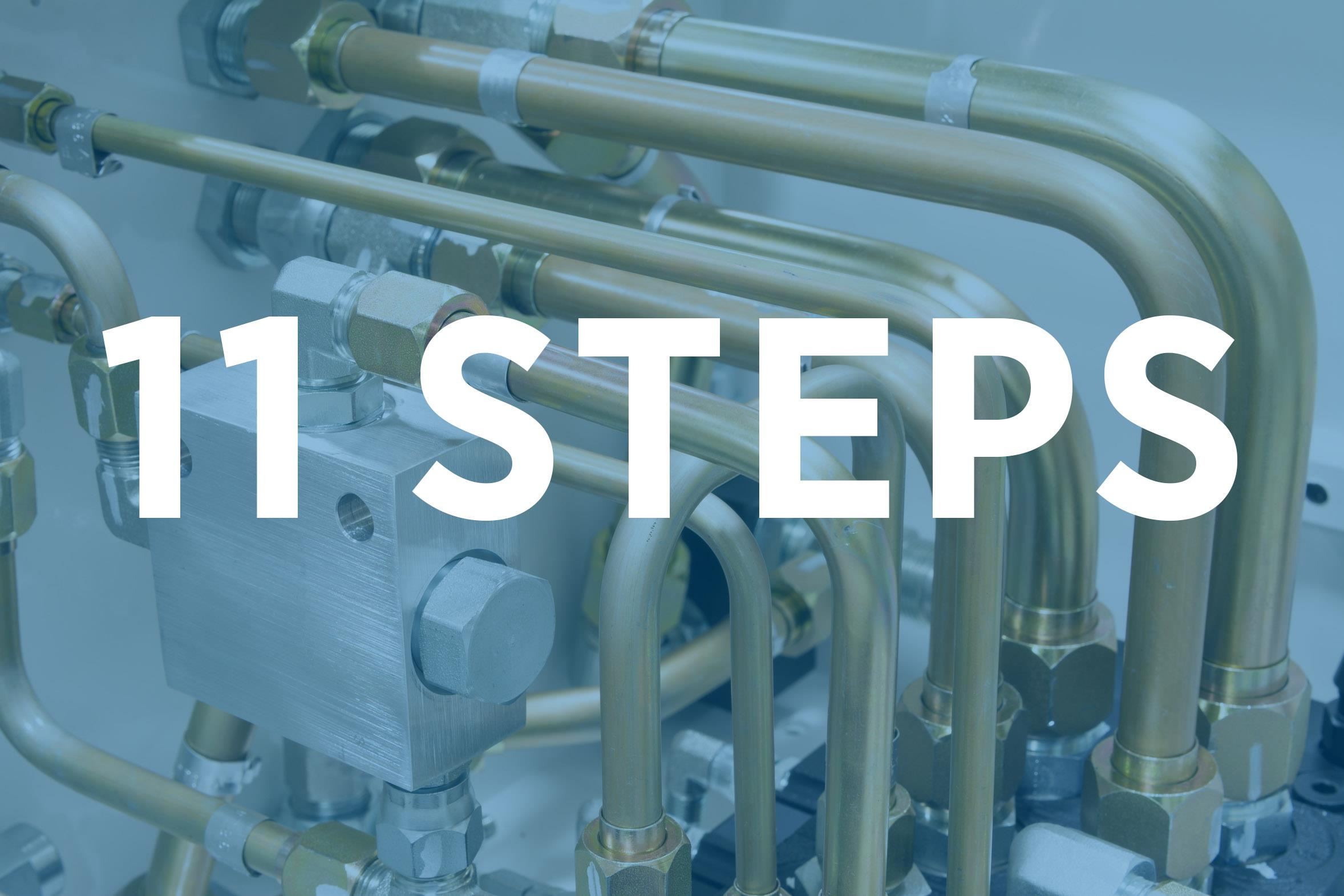 11 Simple Steps for Flushing a Hydraulic System