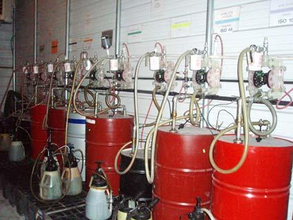 Oil Storage Room
