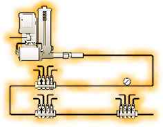 Single-line Parallel System