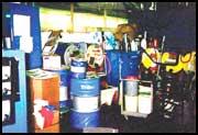 Unorganized Bulk Storage Crib