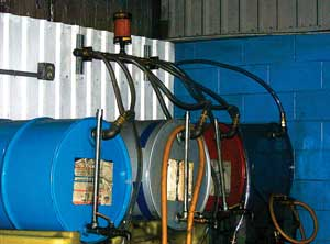 Desiccant Breather on New Oil Drums