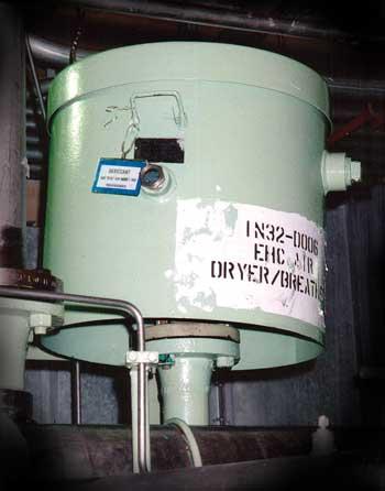 Standard Desiccant Breather Used on a GE Reservoir