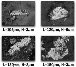 Individual Laminar Particles