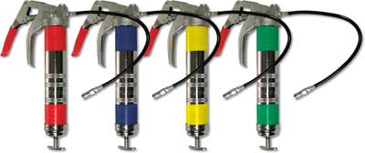 Color-coded Grease Guns