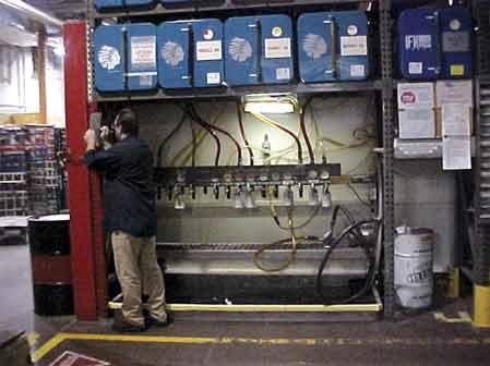 Lubricant Storage Area