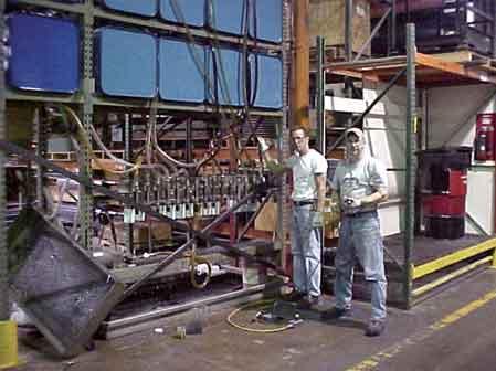 Bulk Oil Rack