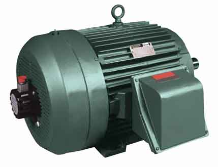 Photo 2. AC motors can provide you with a considerable cost savings ...