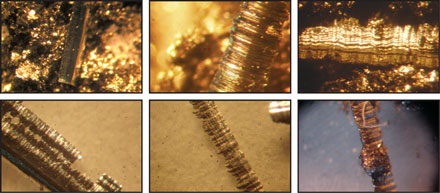 Filter Analysis - Abrasive Wear