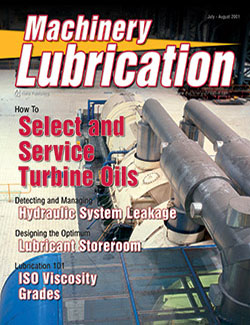 Machinery Lubrication - Cover - 7/2001
