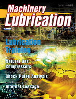 Machinery Lubrication - Cover - 11/2003