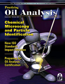 Practicing Oil Analysis - Cover - 9/2001