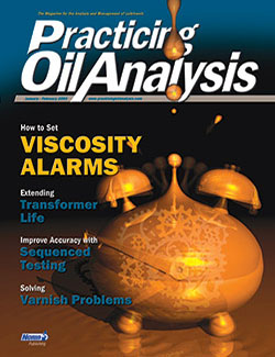 Practicing Oil Analysis - Cover - 1/2003