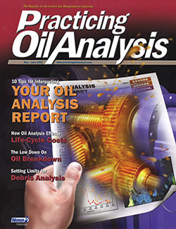 Practicing Oil Analysis - Cover - 5/2003