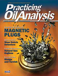 Practicing Oil Analysis - Cover - 9/2003