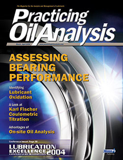 Practicing Oil Analysis - Cover - 3/2004