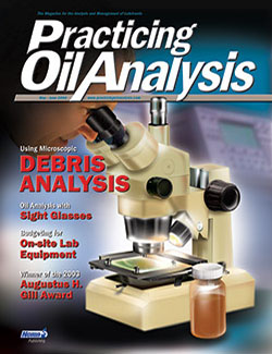 Practicing Oil Analysis - Cover - 5/2004