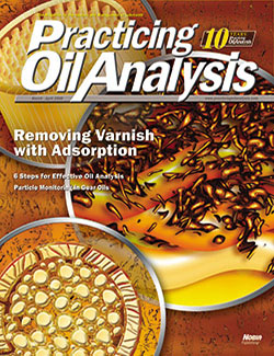 Practicing Oil Analysis - Cover - 3/2008