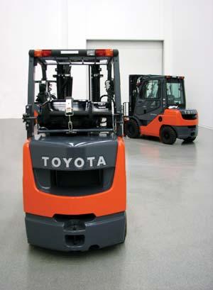 Pm Improvements At Toyota Lift Truck Plant