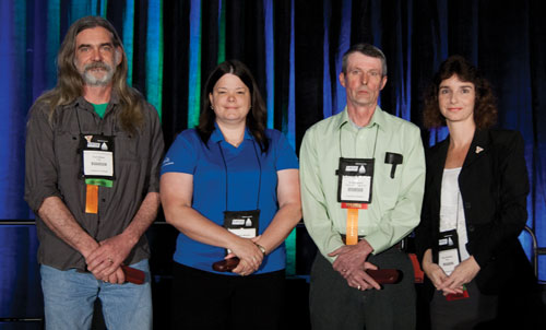 Along with Kurt Bittner of PSEG Nuclear and Scotty Lippert of Clopay Plastics, Wenzel was honored at the 2011 Reliable Plant Conference in Columbus, Ohio, as representing the spirit of ICML.