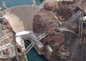 the significance of the construction of hoover dam The hoover dam bypass bridge — a second major engineering feat along this  stretch of the colorado river — will open to foot traffic before.