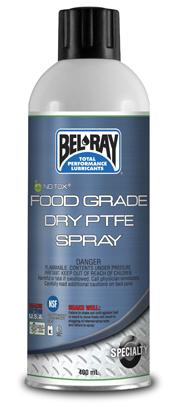 Bel Ray Food Grade Lubricant Approved For Clean Industry Applications