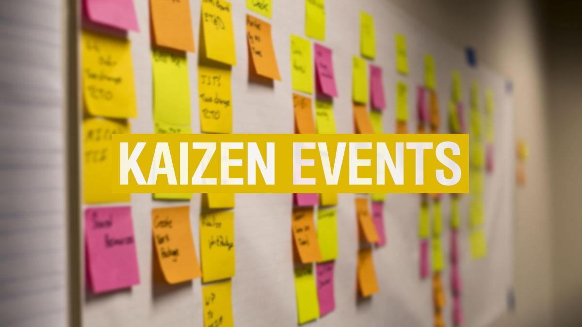 kaizen events  when and how to use them