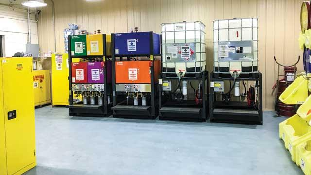 10 Ways to Improve Lubricant Storage and Handling