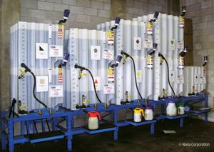 Bulk oil dispensing system