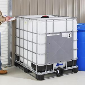 Bulk poly container