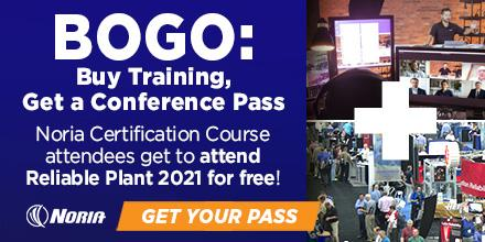 2-for-1: Buy Training & Get Free Pass to Reliable Plant