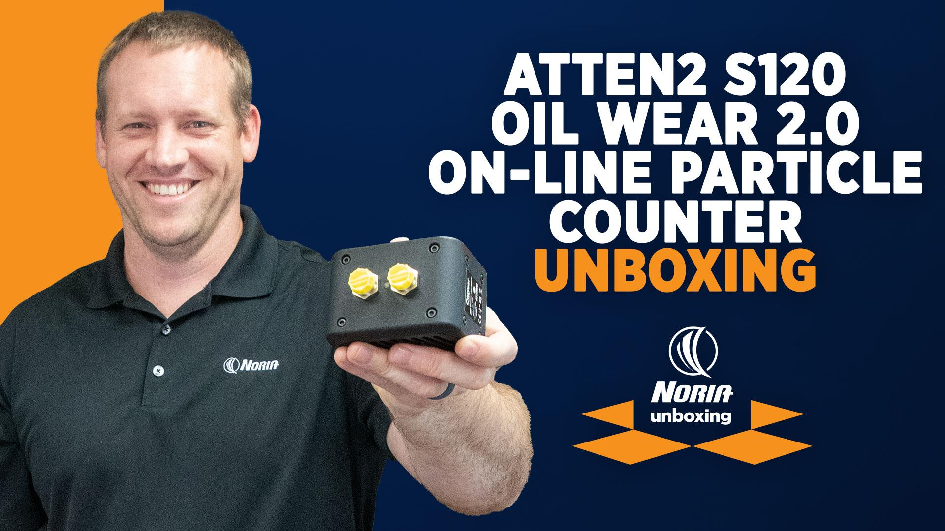 Unboxing: Atten2 S120 Oil Wear 2.0 On-Line Particle Counter