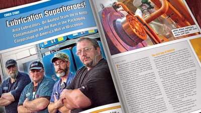 Lubrication Superheroes Save the Day at PCA Mill