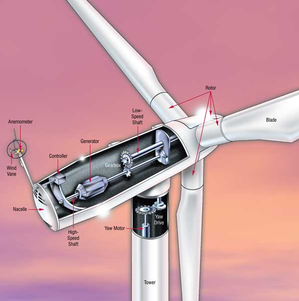 Propeller Type Wind Turbine