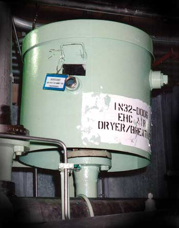Standard Desiccant Breather Used on a GE Reservoir