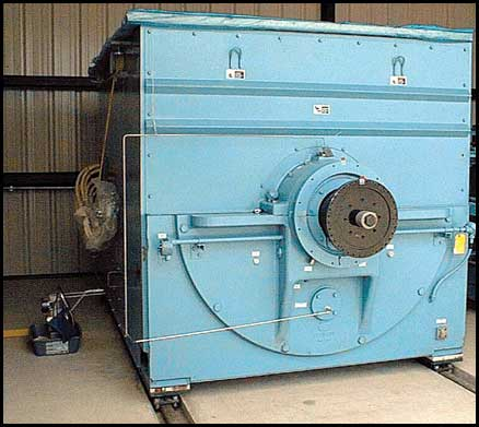 Electric Motor Stored with Oil Mist