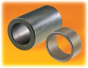 graphite/metal alloy bearing