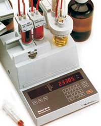 Coulometric Karl Fischer Titration Analyzer