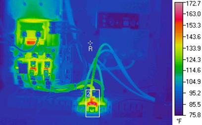 Infrared thermography data