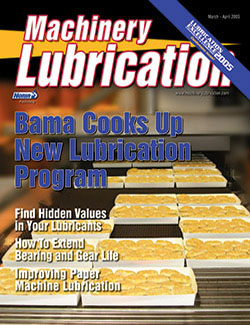 Machinery Lubrication - Cover - 3/2005