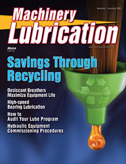 Machinery Lubrication - Cover - 11/2005