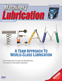Machinery Lubrication - Cover - 1/2009