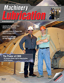Machinery Lubrication - Cover - 9/2009