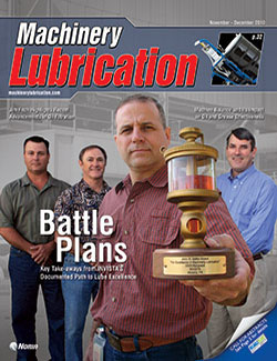 Machinery Lubrication - Cover - 11/2010