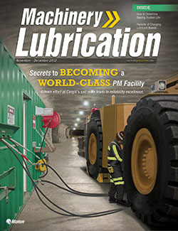 Machinery Lubrication - Cover - 12/2012